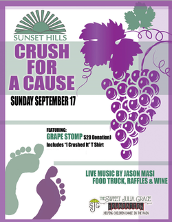Crush for a Cause - Grape Stomp