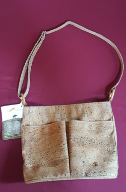 Cross Shoulder Cork Purse - Postman