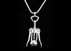Jewelry Corkscrew Necklace
