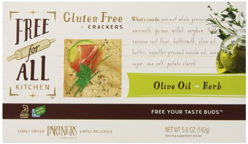 Olive Oil & Herb Crackers